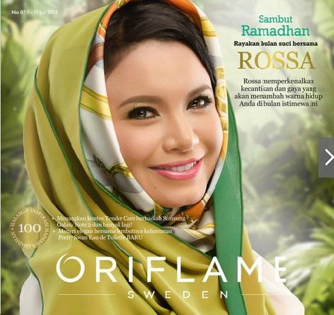 Cover Katalog Oriflame Juli 2013